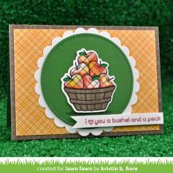 Lawn Fawn Thanks A Bushel Stamp Set