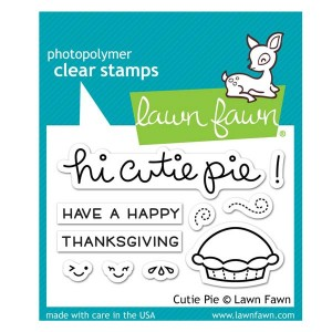 Lawn Fawn Cutie Pie Stamp Set