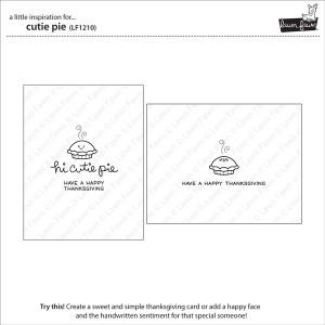 Lawn Fawn Cutie Pie Stamp Set class=