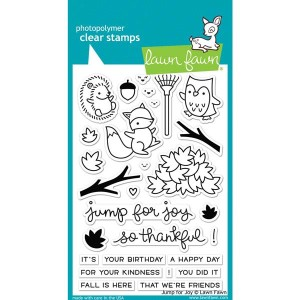"Lawn Fawn Jump for Joy Stamp Set <span style=""color:red;"">Reserve-more on their way</span>"