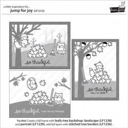 Lawn Fawn Jump for Joy Stamp Set