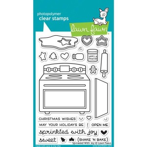 Lawn Fawn Sprinkled With Joy Stamp Set