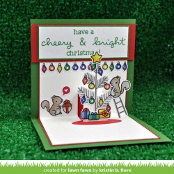 Lawn Fawn Cheery Christmas Stamp Set