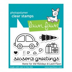 Lawn Fawn Home For The Holidays Stamp Set