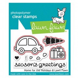 Lawn Fawn Home for the Holidays Lawn Cuts (dies)