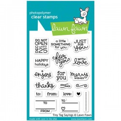 Lawn Fawn Tiny Tag Sayings Stamp Set