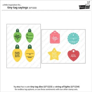 Lawn Fawn Tiny Tag Sayings Stamp Set class=