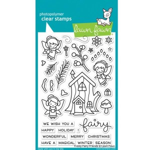 Lawn Fawn Frosty Fairy Friends Stamp Set