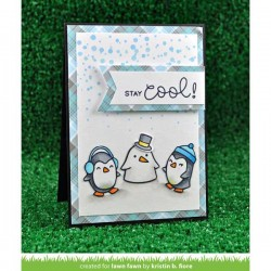 Lawn Fawn Snow Cool Stamp Set