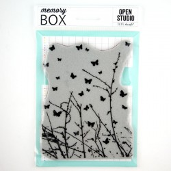 Memory Box Butterfly Breeze Cling Stamp