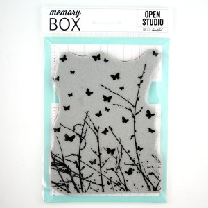 Memory Box Butterfly Breeze Cling Stamp class=