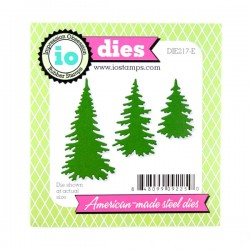Impression Obsession Evergreen Trees Die Set
