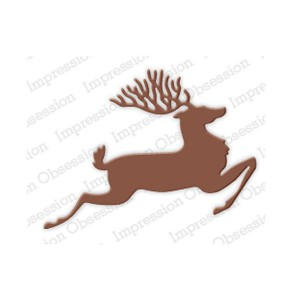 Impression Obsession Reindeer Die class=