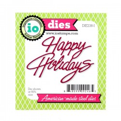 Impression Obsession Happy Holidays Die