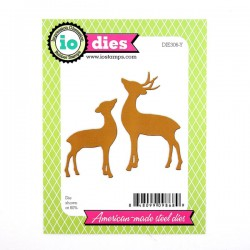 Impression Obsession Deer & Doe Die Set
