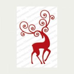 Impression Obsession Reindeer Flourish Die