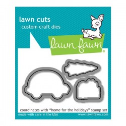 Lawn Fawn Home for the Holidays Lawn Cuts