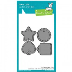 Lawn Fawn Tiny Tags Lawn Cuts