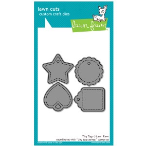 Lawn Fawn Tiny Tags Lawn Cuts (dies)