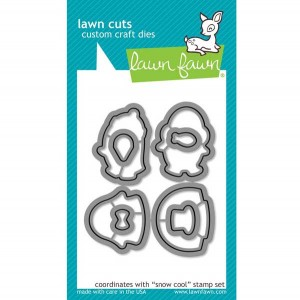 Lawn Fawn Snow Cool Lawn Cuts