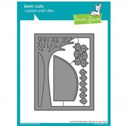 Lawn Fawn Leafy Tree Backdrop - Portrait