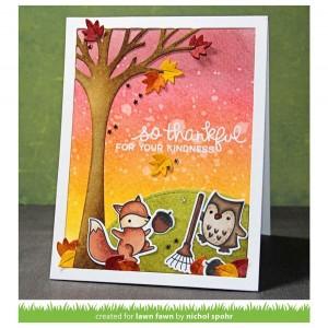 Lawn Fawn Leafy Tree Backdrop - Portrait class=