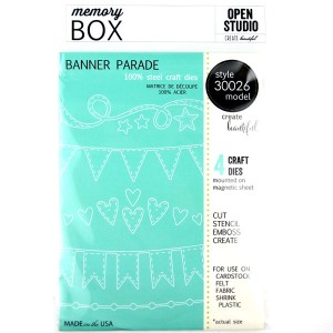 Memory Box Banner Parade Craft Dies class=
