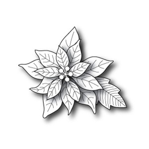Poppystamps Blooming Poinsettia Craft Die