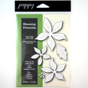 Poppystamps Blooming Poinsettia Craft Die class=