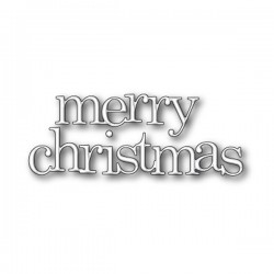 Poppystamps Jumbled Merry Christmas Craft Die
