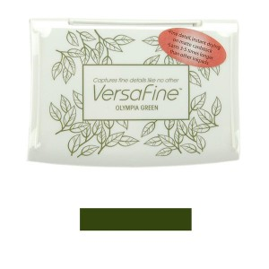 VersaFine Olympia Green Ink Pad class=