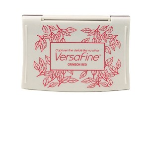 VersaFine Crimson Red Ink Pad class=