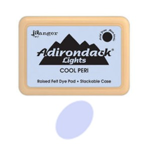 Ranger Adirondack Alcohol Ink Pad - Cool Peri class=