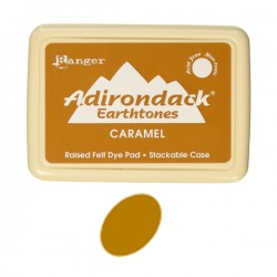 Ranger Adirondack Alcohol Ink Pad – Caramel
