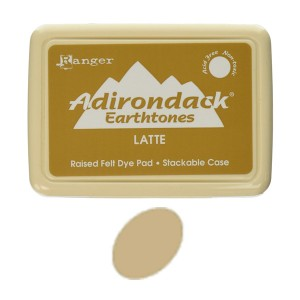 Ranger Adirondack Alcohol Ink Pad - Latte class=