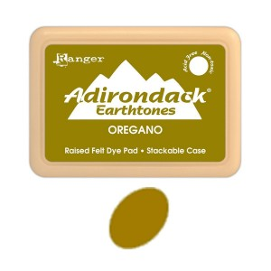 Ranger Adirondack Alcohol Ink Pad - Oregano class=