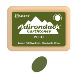 Ranger Adirondack Alcohol Ink Pad - Pesto