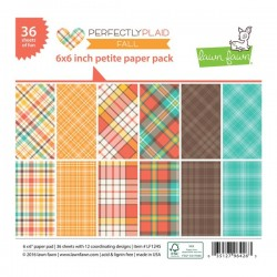 Lawn Fawn Perfectly Plaid Fall Petite Paper Pack
