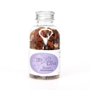 28 Lilac Lane Toasted Graham Embellishment Bottle