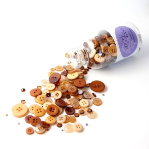 28 Lilac Lane Toasted Graham Embellishment Bottle class=