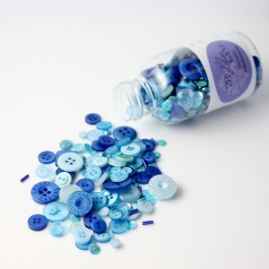 28 Lilac Lane Winter Blues Embellishment Bottle class=