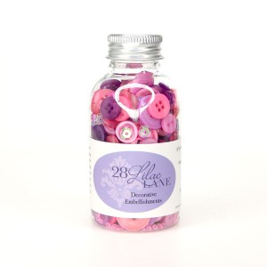28 Lilac Lane Pretty Princess Embellishment Bottle
