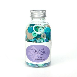 28 Lilac Lane Birds of a Feather Embellishment Bottles