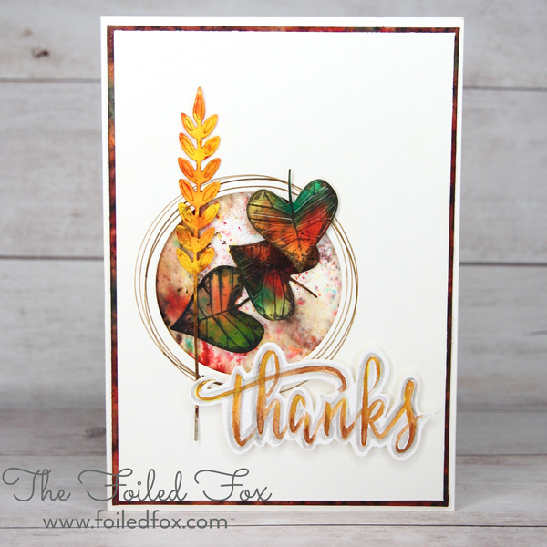 Fall-Leaves-card using Concord & 9th Layering Leaves
