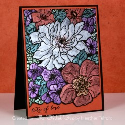 Penny Black Sweet Perfume Cling Stamp