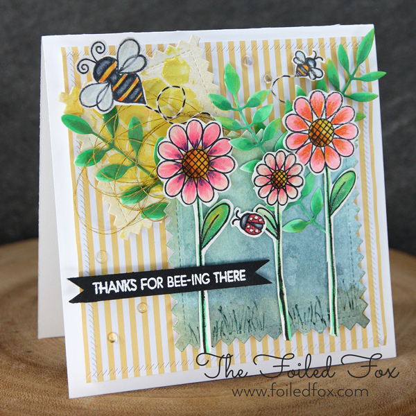 Thanks for Bee-ing There card