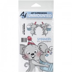 Art Impressions Frosting Spinner Stamp Set