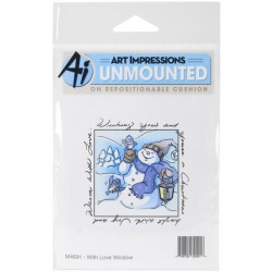 Art Impressions Windows To The World Cling Stamp