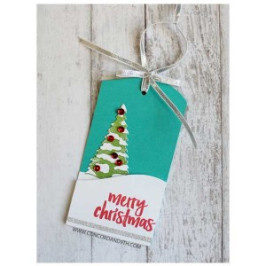 Concord & 9th Christmas Cottage Stamp Set class=
