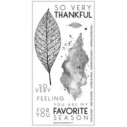 Concord & 9th Lace Leaf Stamp Set
